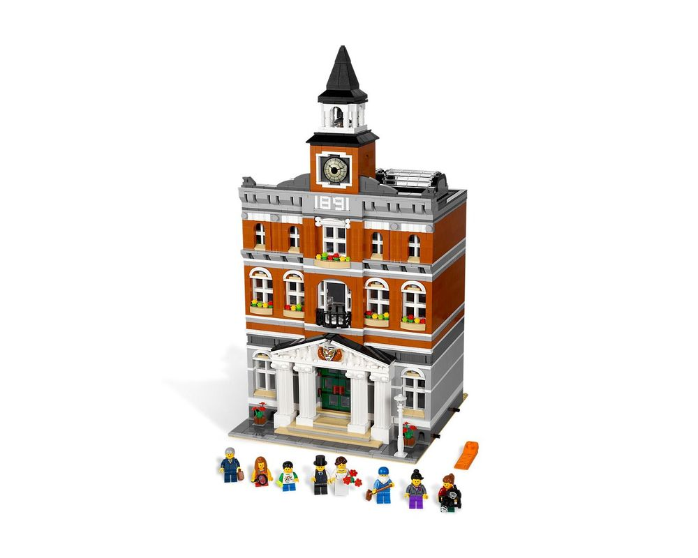 LEGO Set 10224-1 Town Hall (Model - A-Model)