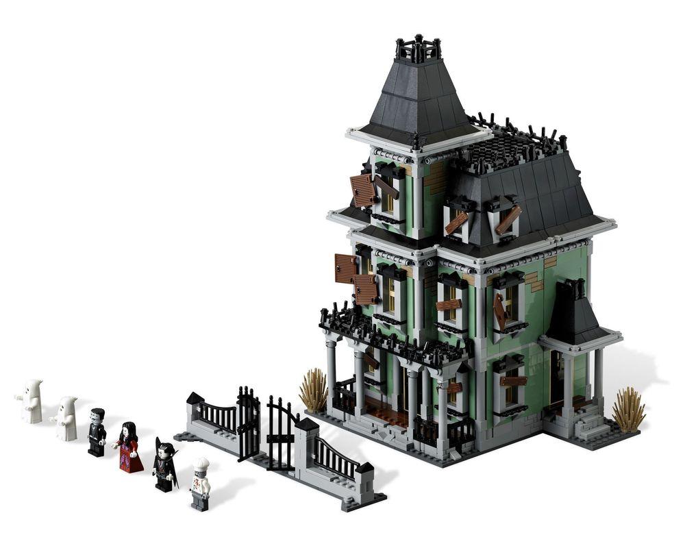 LEGO Set 10228-1 Haunted House (LEGO - Model)
