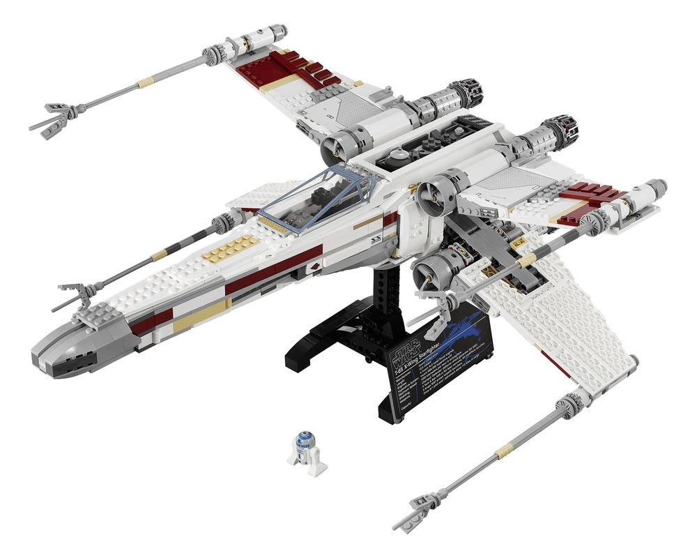 LEGO Set 10240-1 Red Five X-Wing Starfighter (Model - A-Model)