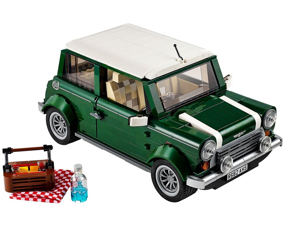 LEGO Set 10242-1 MINI Cooper (LEGO - Model)