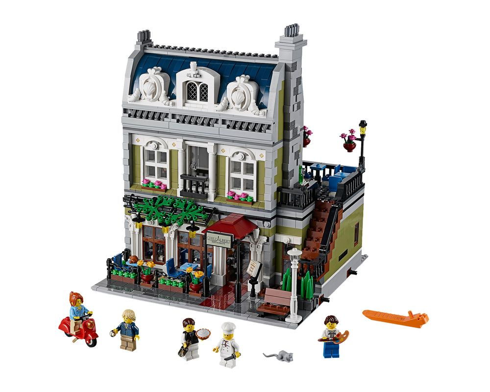 LEGO Set 10243-1 Parisian Restaurant (Model - A-Model)
