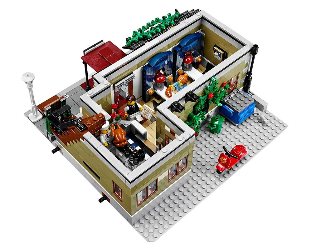 LEGO Set 10243-1 Parisian Restaurant