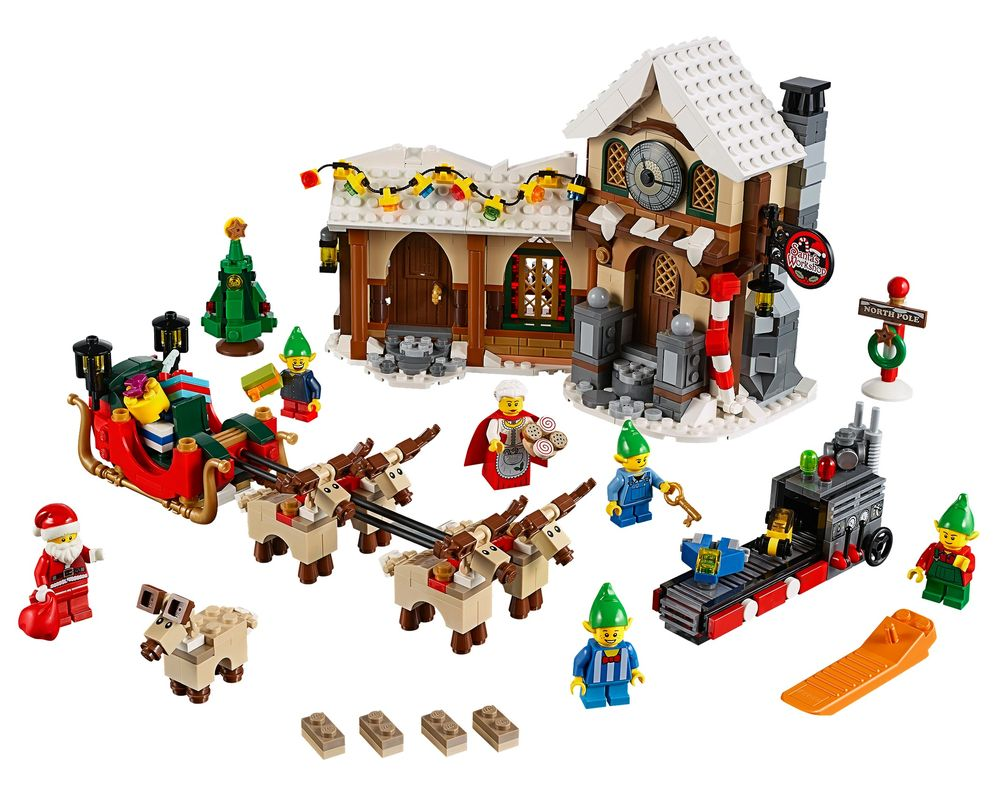 LEGO Set 10245-1 Santa's Workshop (Model - A-Model)