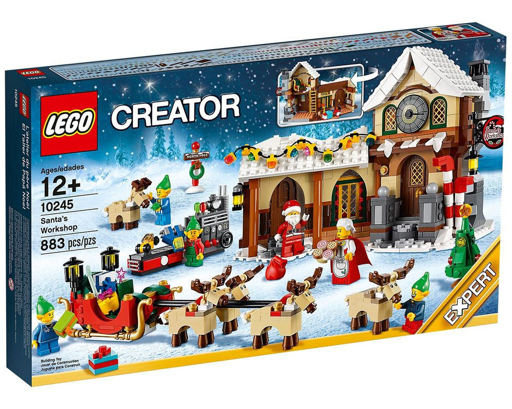 LEGO Set 10245-1 Santa's Workshop