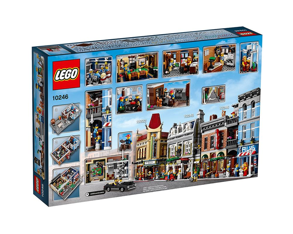 LEGO Set 10246-1 Detective's Office