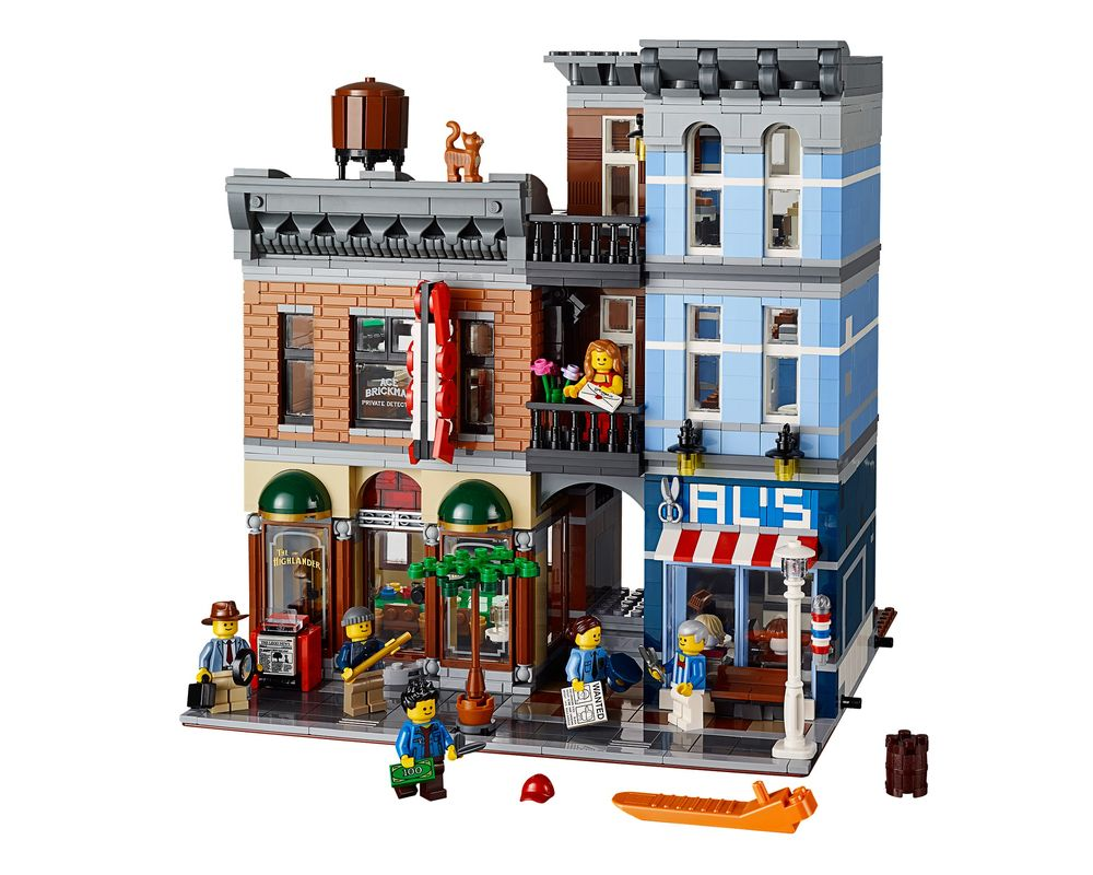 LEGO Set 10246-1 Detective's Office (LEGO - Model)