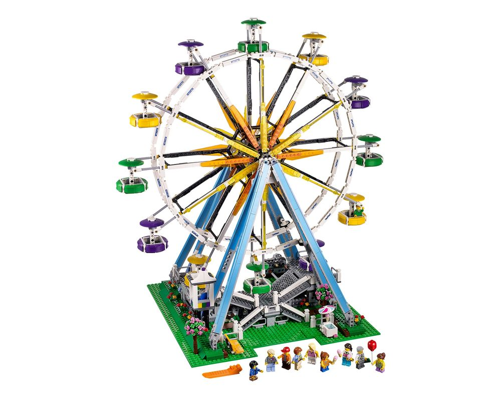 LEGO Set 10247-1 Ferris Wheel (Model - A-Model)