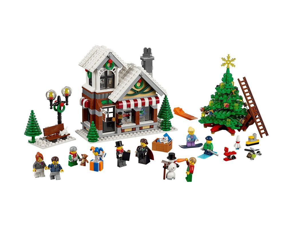 LEGO Set 10249-1 Winter Toy Shop (LEGO - Model)