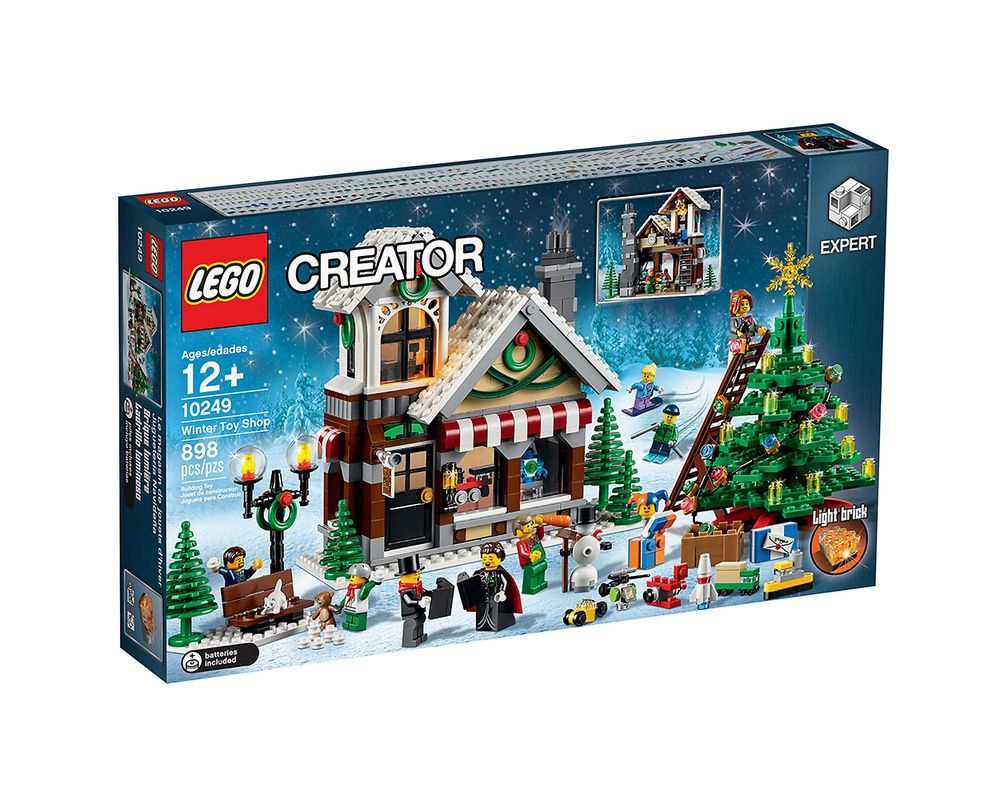 LEGO Set 10249-1 Winter Toy Shop
