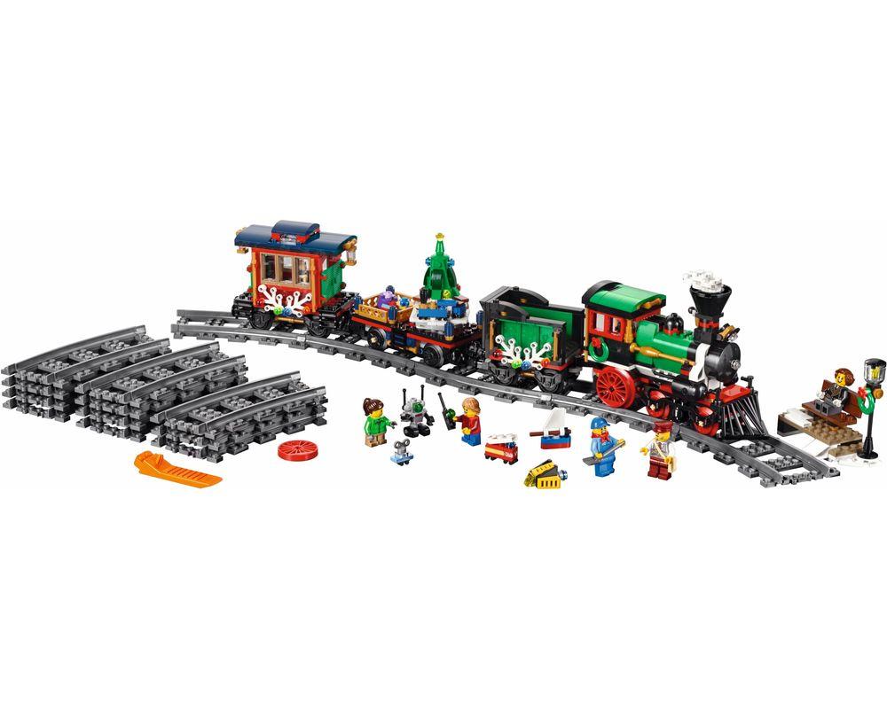LEGO Set 10254-1 Winter Holiday Train (LEGO - Model)