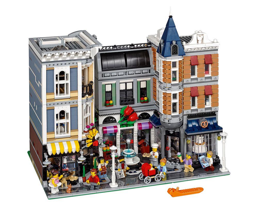 LEGO Set 10255-1 Assembly Square (Model - A-Model)