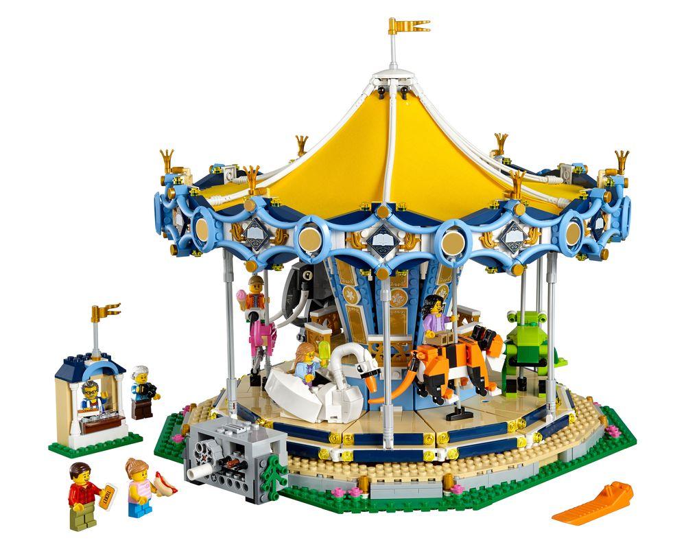 LEGO Set 10257-1 Carousel (Model - A-Model)