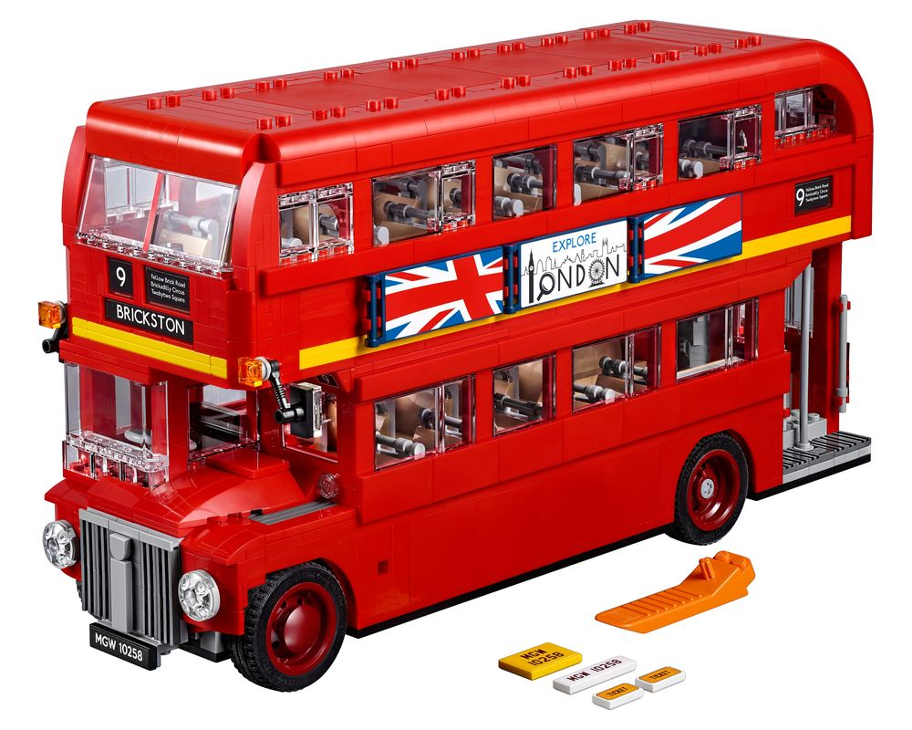 LEGO Set 10258-1 London Bus (LEGO - Model)