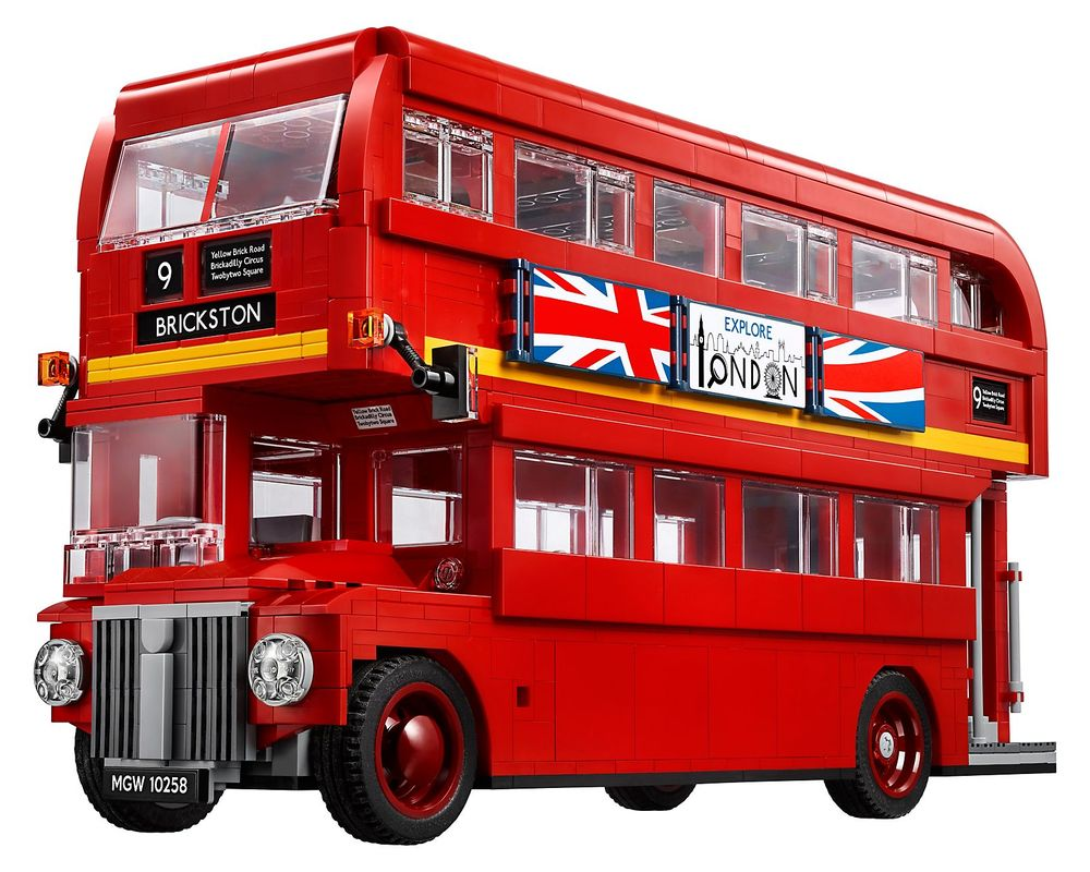LEGO Set 10258-1 London Bus