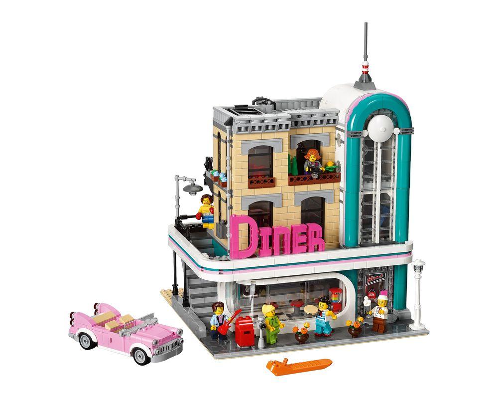 LEGO Set 10260-1 Downtown Diner (Model - A-Model)