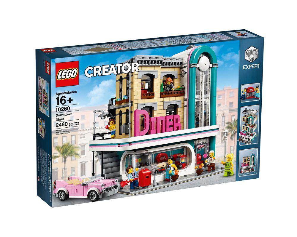 LEGO Set 10260-1 Downtown Diner