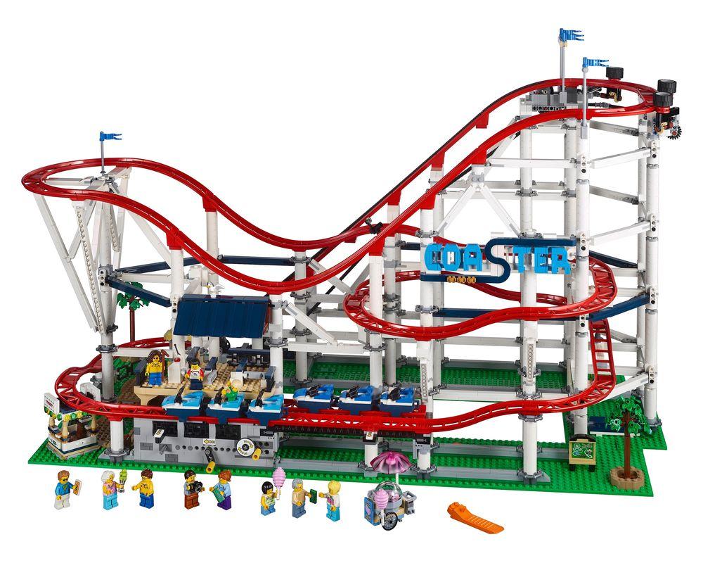 LEGO Set 10261-1 Roller Coaster (LEGO - Model)