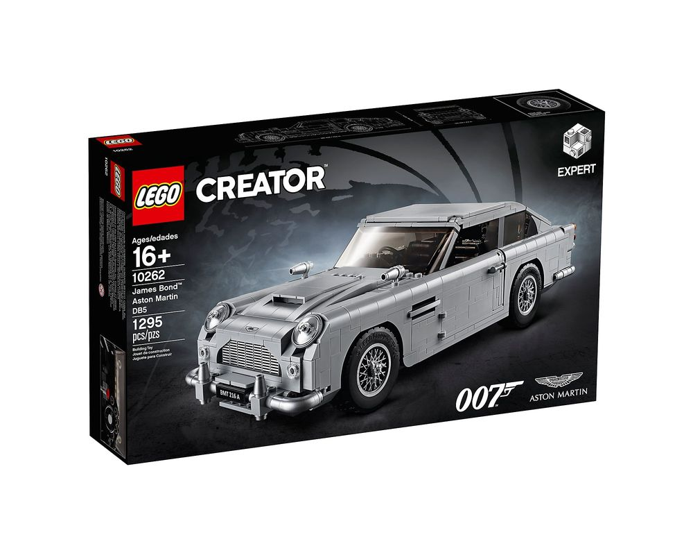 LEGO Set 10262-1 James Bond Aston Martin DB5