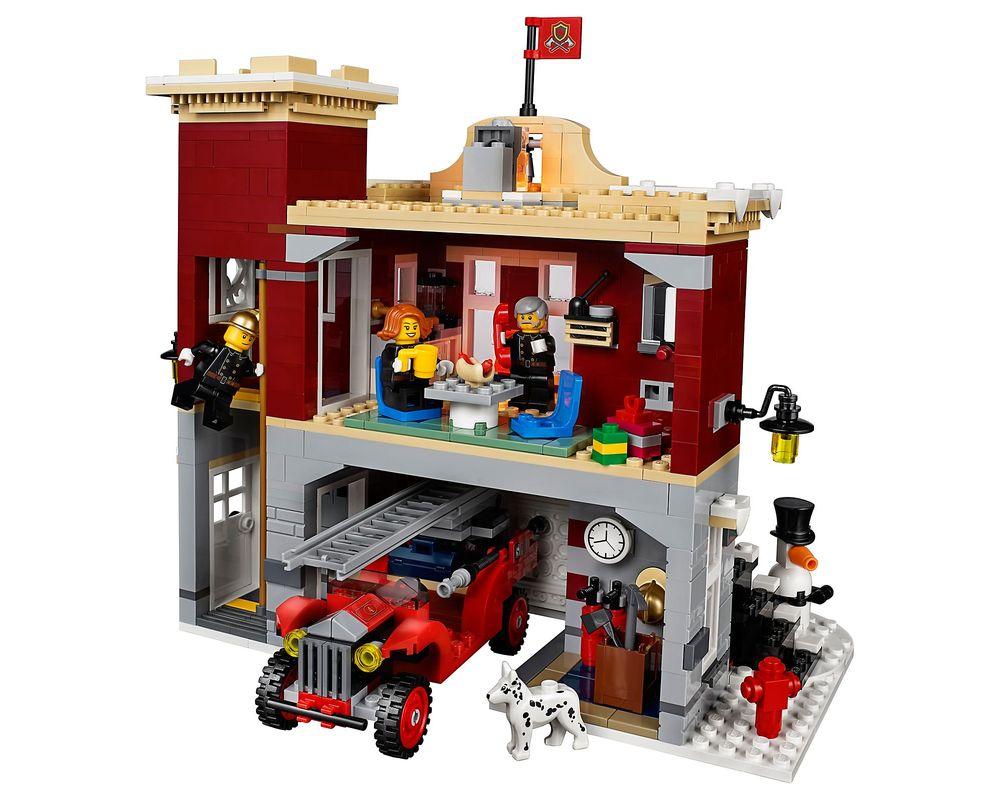 LEGO Set 10263-1 Winter Village Fire Station