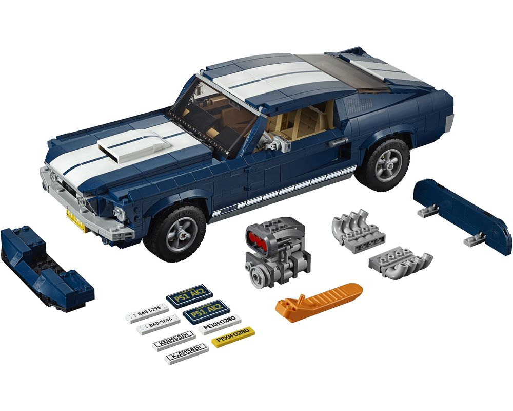 LEGO Set 10265-1 Ford Mustang (Model - A-Model)
