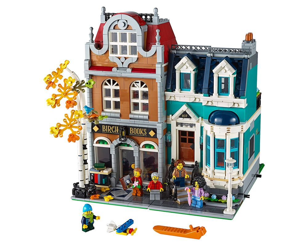 LEGO Set 10270-1 Bookshop (Model - A-Model)