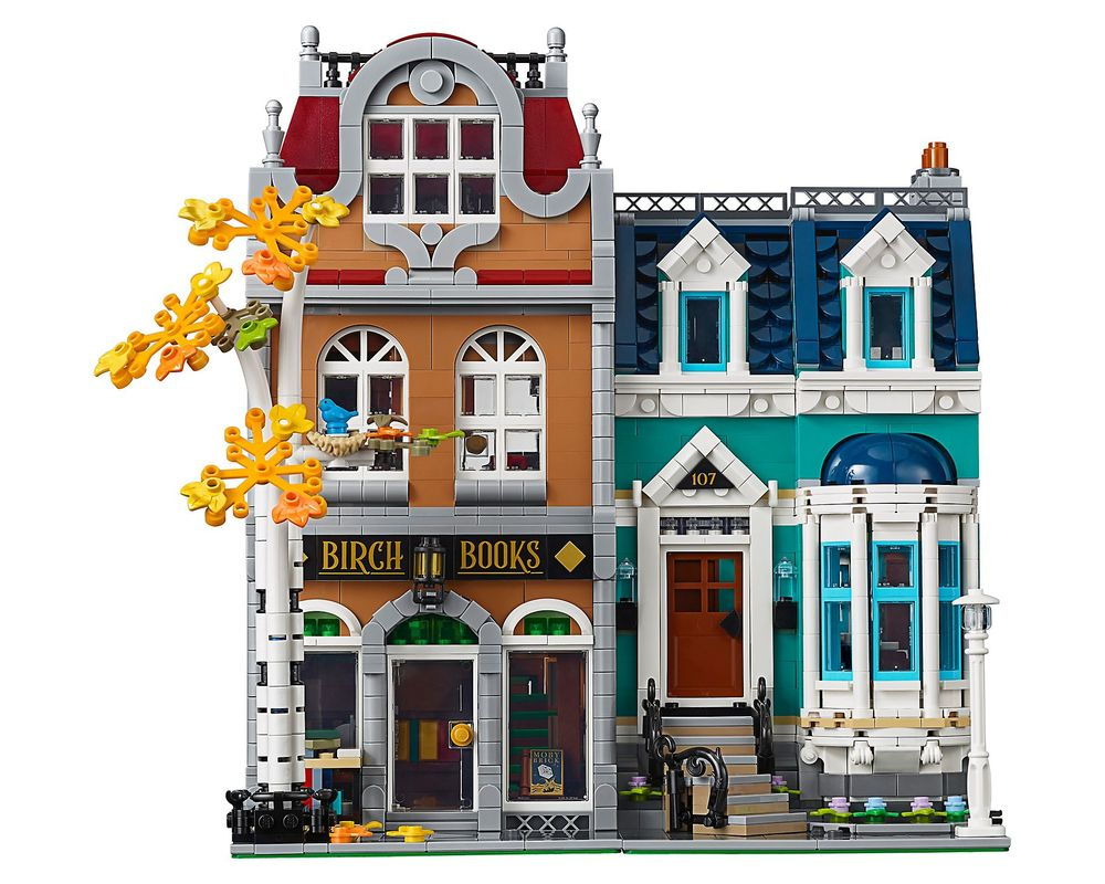LEGO Set 10270-1 Bookshop