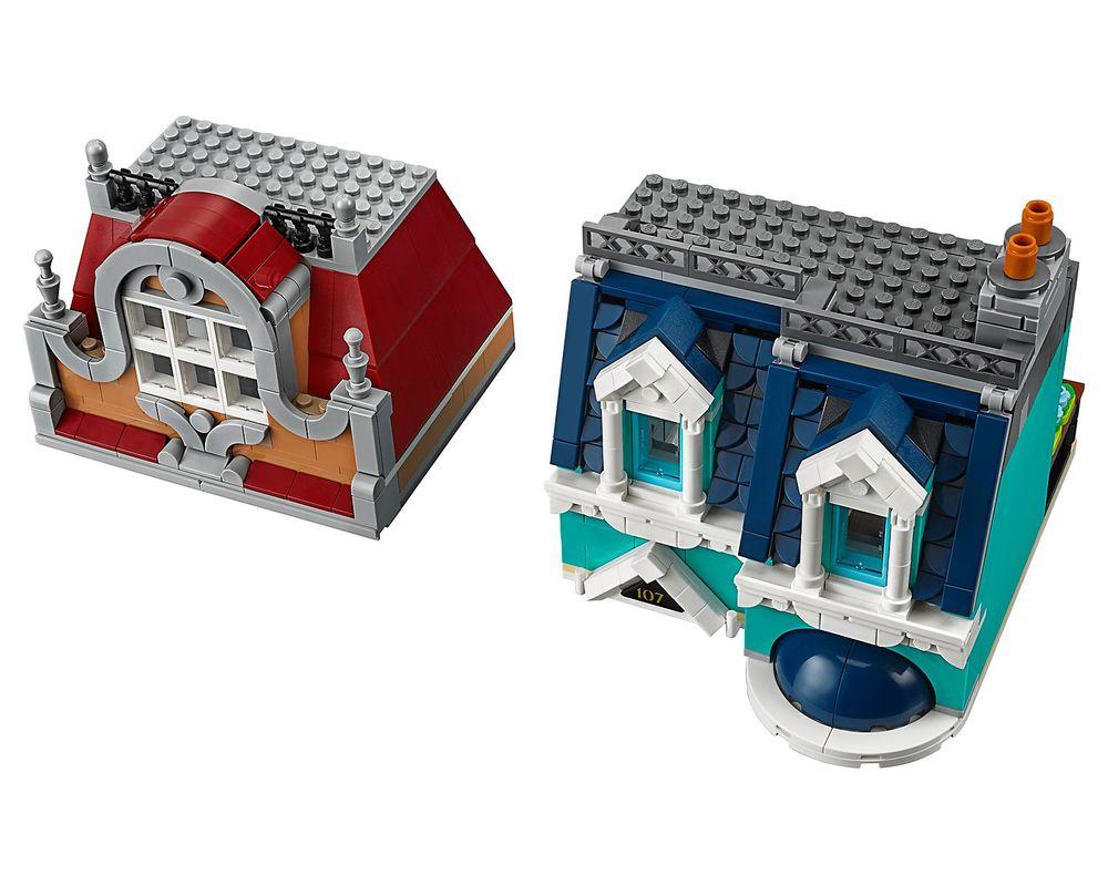 LEGO Set 10270-1 Bookshop