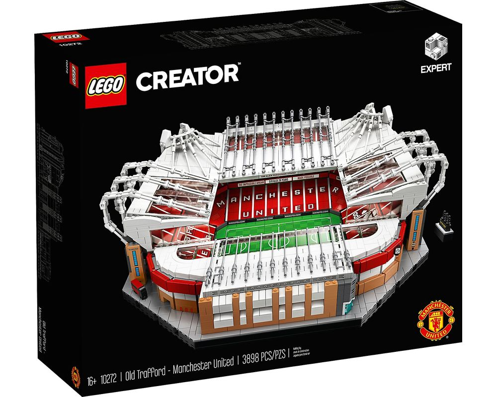 LEGO Set 10272-1 Old Trafford - Manchester United (Box - Front)