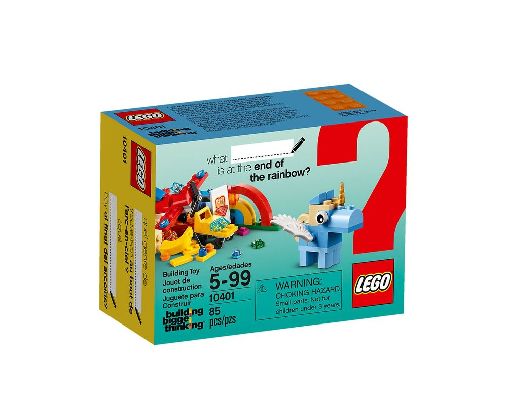 LEGO Set 10401-1 Rainbow Fun