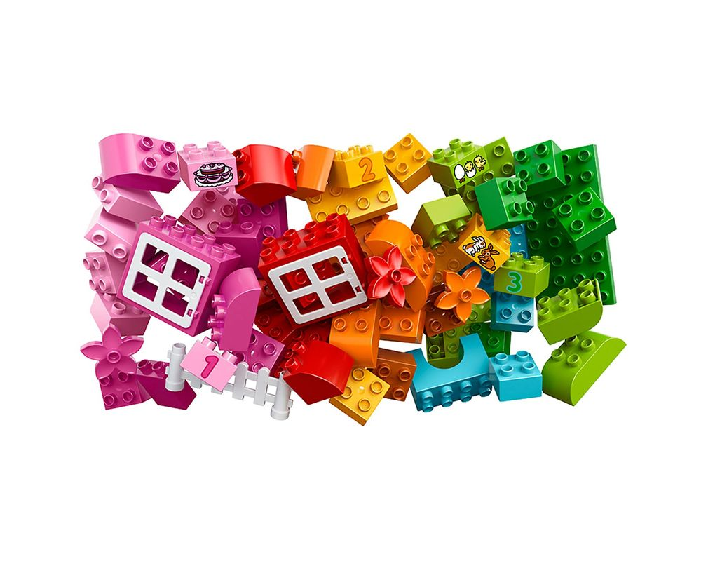 LEGO Set 10571-1 All-in-One-Pink-Box-of-Fun
