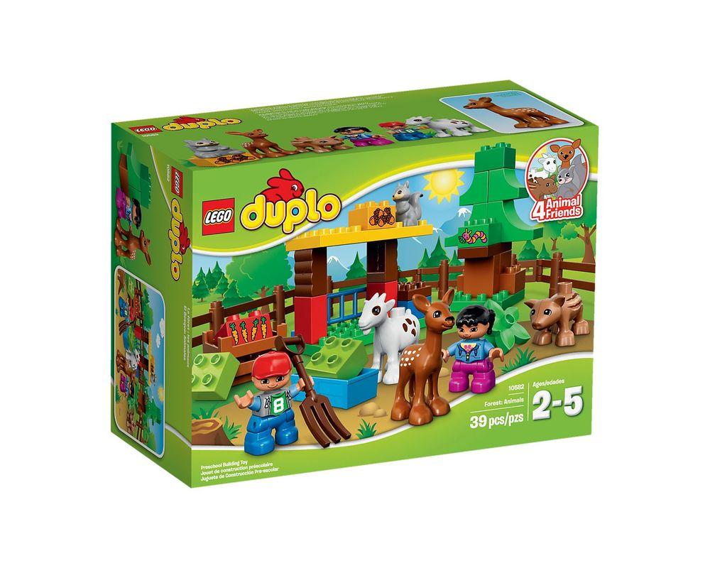 LEGO Set 10582-1 Forest: Animals