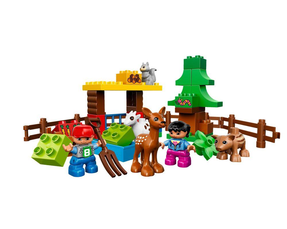LEGO Set 10582-1 Forest: Animals (LEGO - Model)