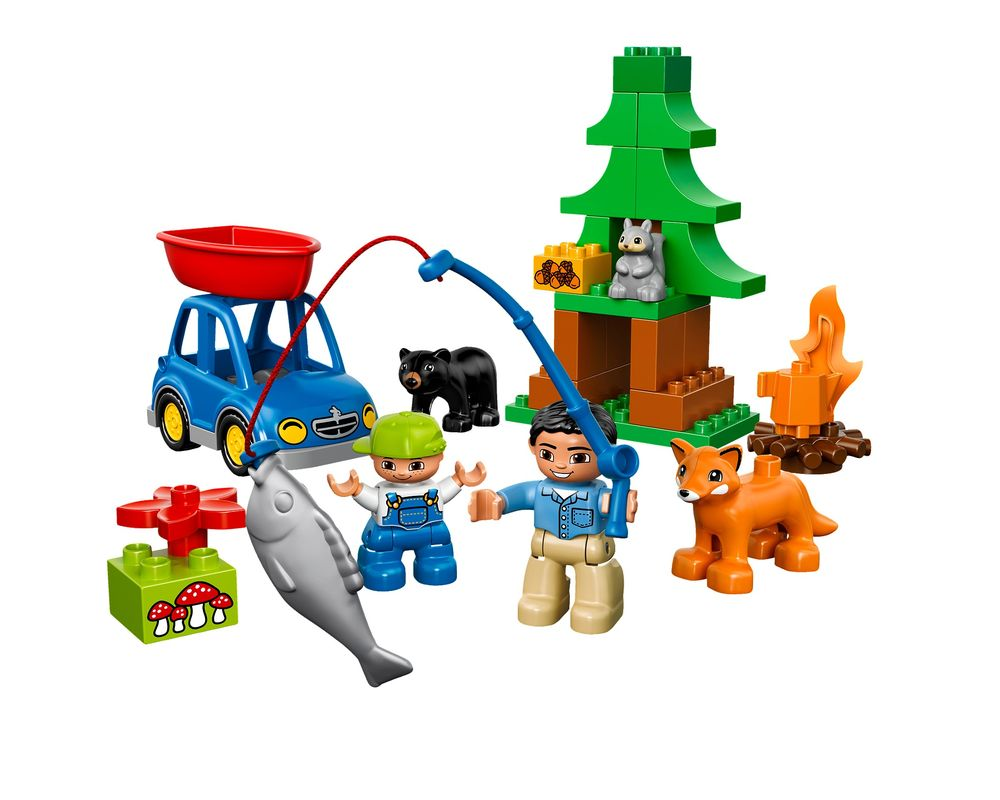 LEGO Set 10583-1 Forest: Fishing Trip (LEGO - Model)