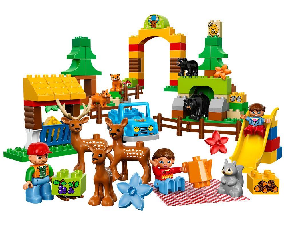 LEGO Set 10584-1 Forest: Park (Model - A-Model)