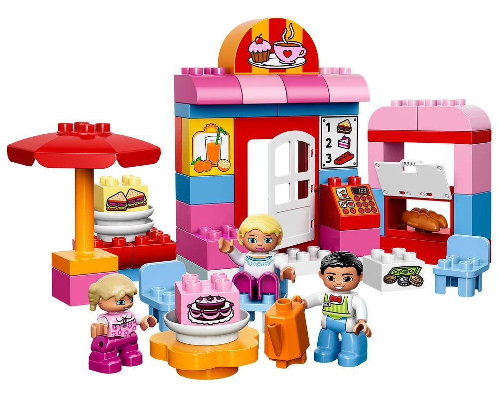 LEGO Set 10587-1 Café (Model - A-Model)