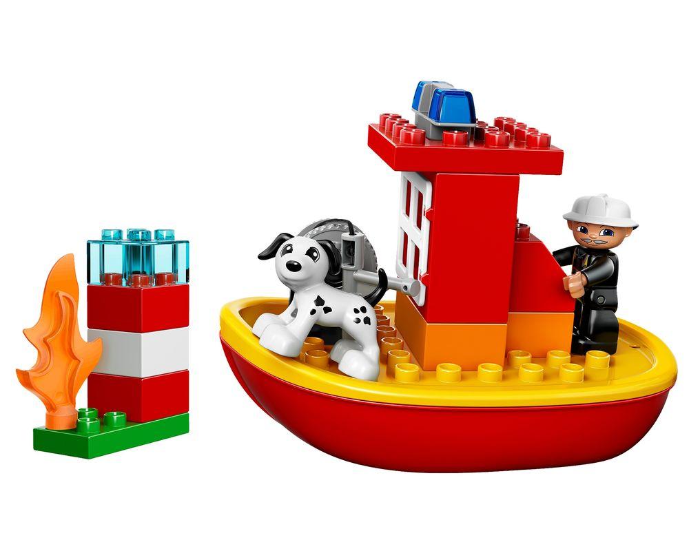 LEGO Set 10591-1 Fire Boat (LEGO - Model)