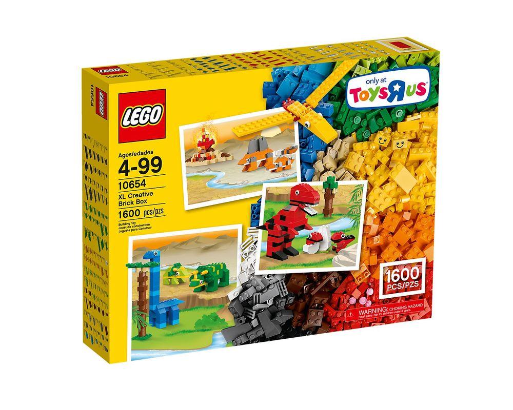 LEGO Set 10654-1 XL Creative Brick Box