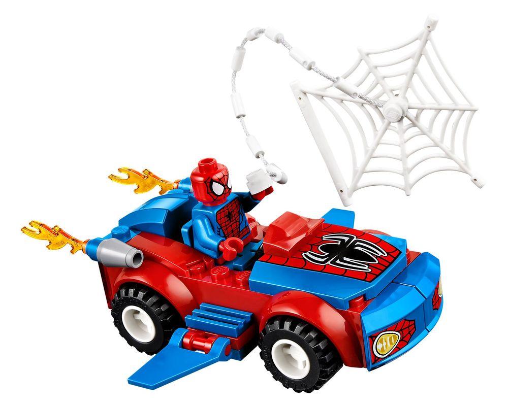 LEGO Set 10665-1 Spider-Man: Spider-Car Pursuit