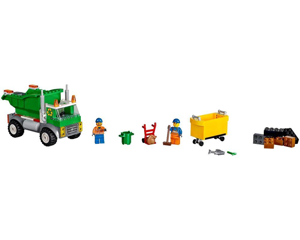 LEGO Set 10680-1 Garbage Truck (LEGO - Model)