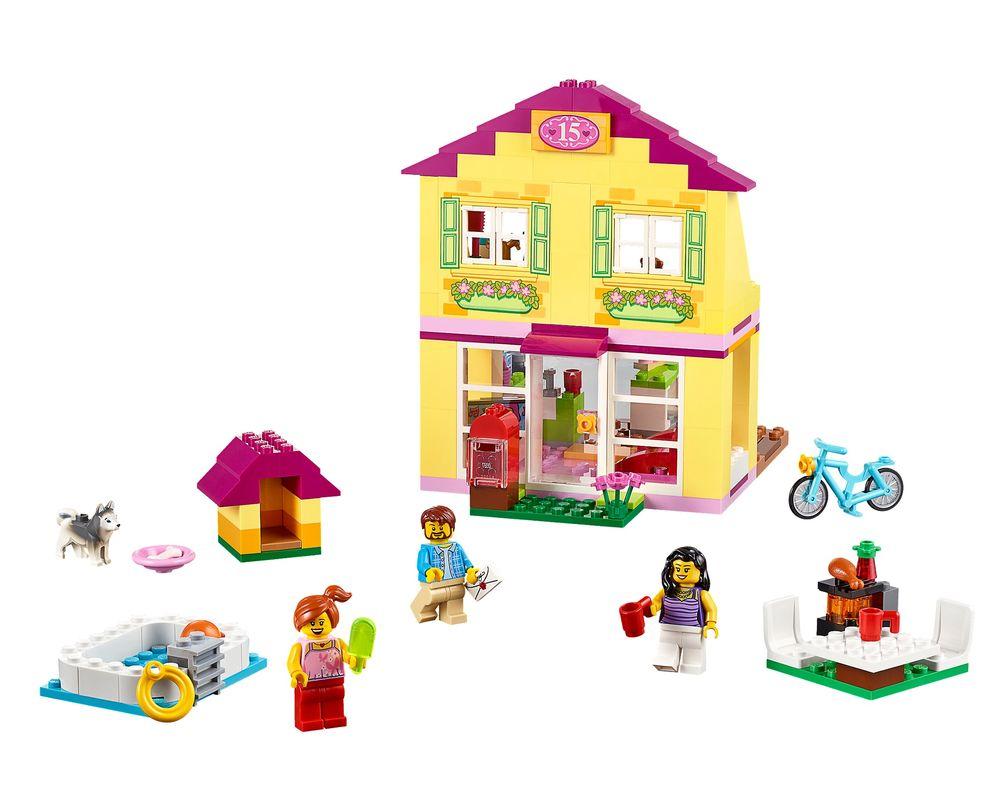 LEGO Set 10686-1 Family House (Model - A-Model)