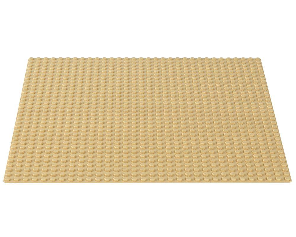 LEGO Set 10699-1 Sand Baseplate (LEGO - Model)