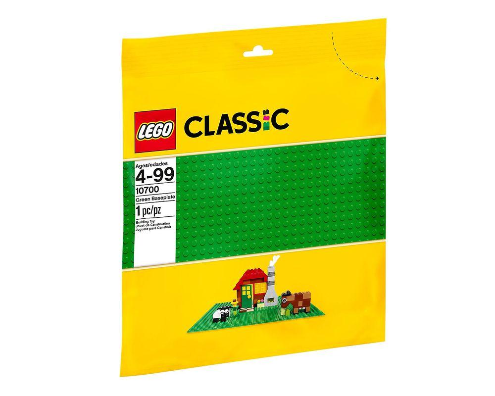 LEGO Set 10700-1 Green Baseplate