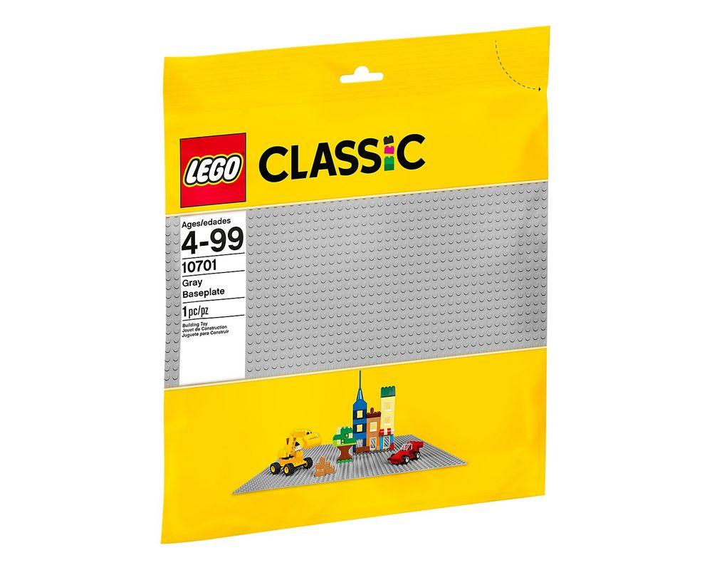 LEGO Set 10701-1 Gray Baseplate