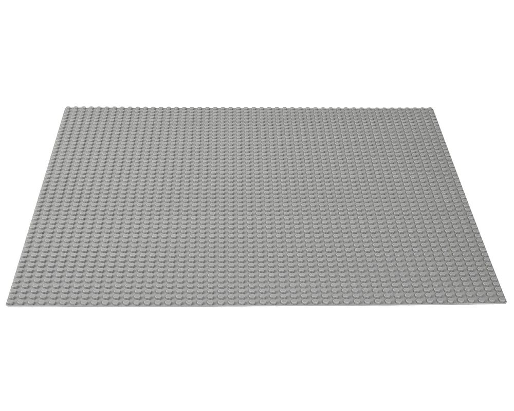 LEGO Set 10701-1 Gray Baseplate (Model - A-Model)