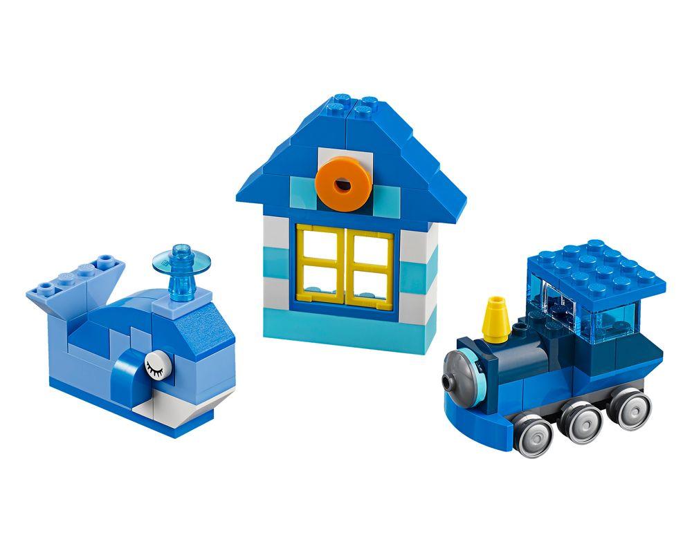 LEGO Set 10706-1 Blue Creative Box (LEGO - Model)