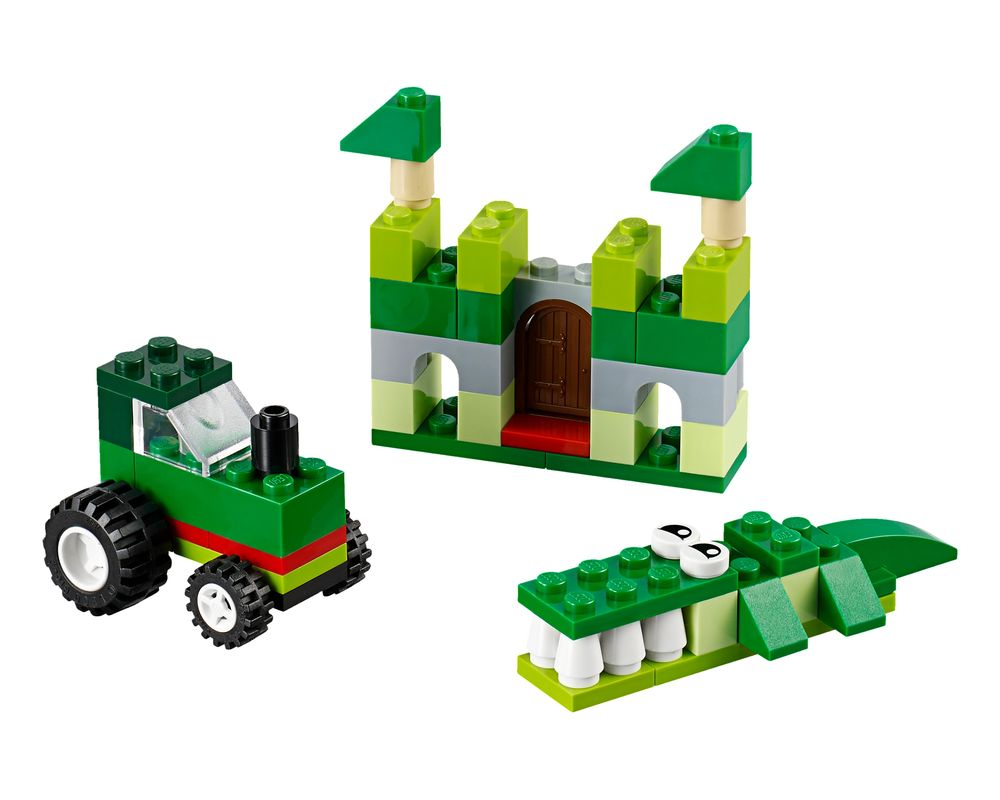 LEGO Set 10708-1 Green Creative Box (Model - A-Model)