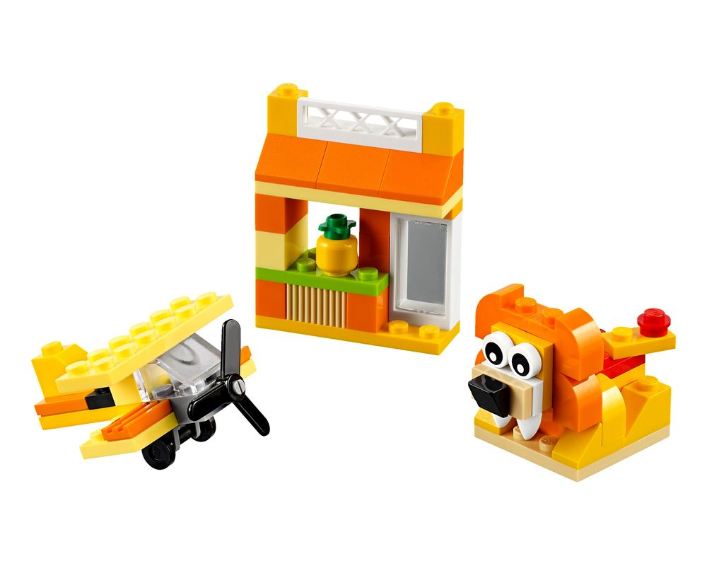 LEGO Set 10709-1 Orange Creative Box (Model - A-Model)