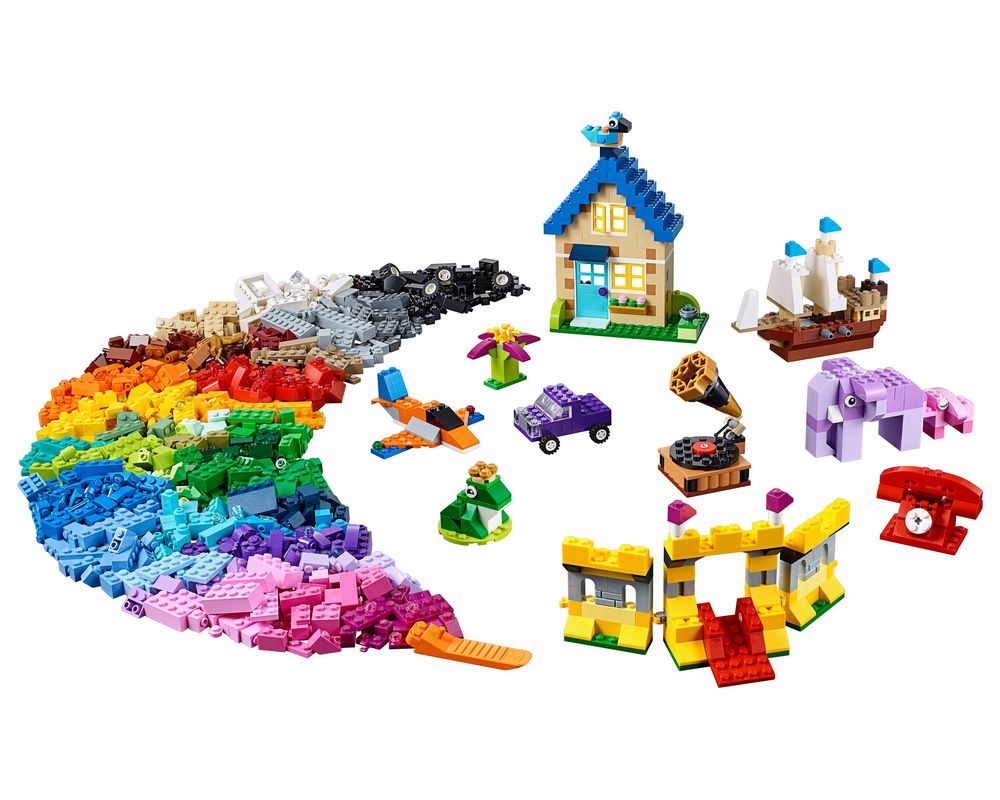 LEGO Set 10717-1 Bricks Bricks Bricks (LEGO - Model)