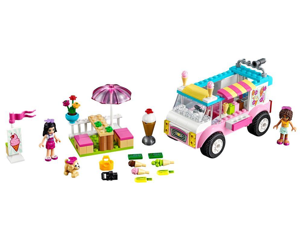 LEGO Set 10727-1 Emma's Ice Cream Truck (Model - A-Model)