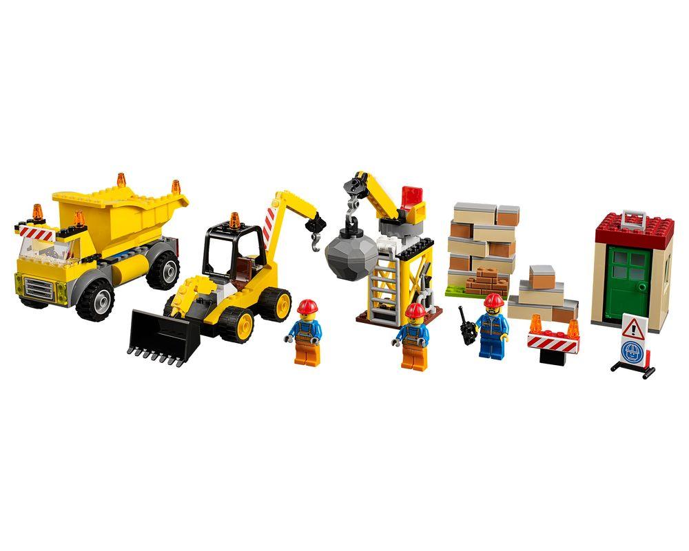 LEGO Set 10734-1 Demolition Site (Model - A-Model)